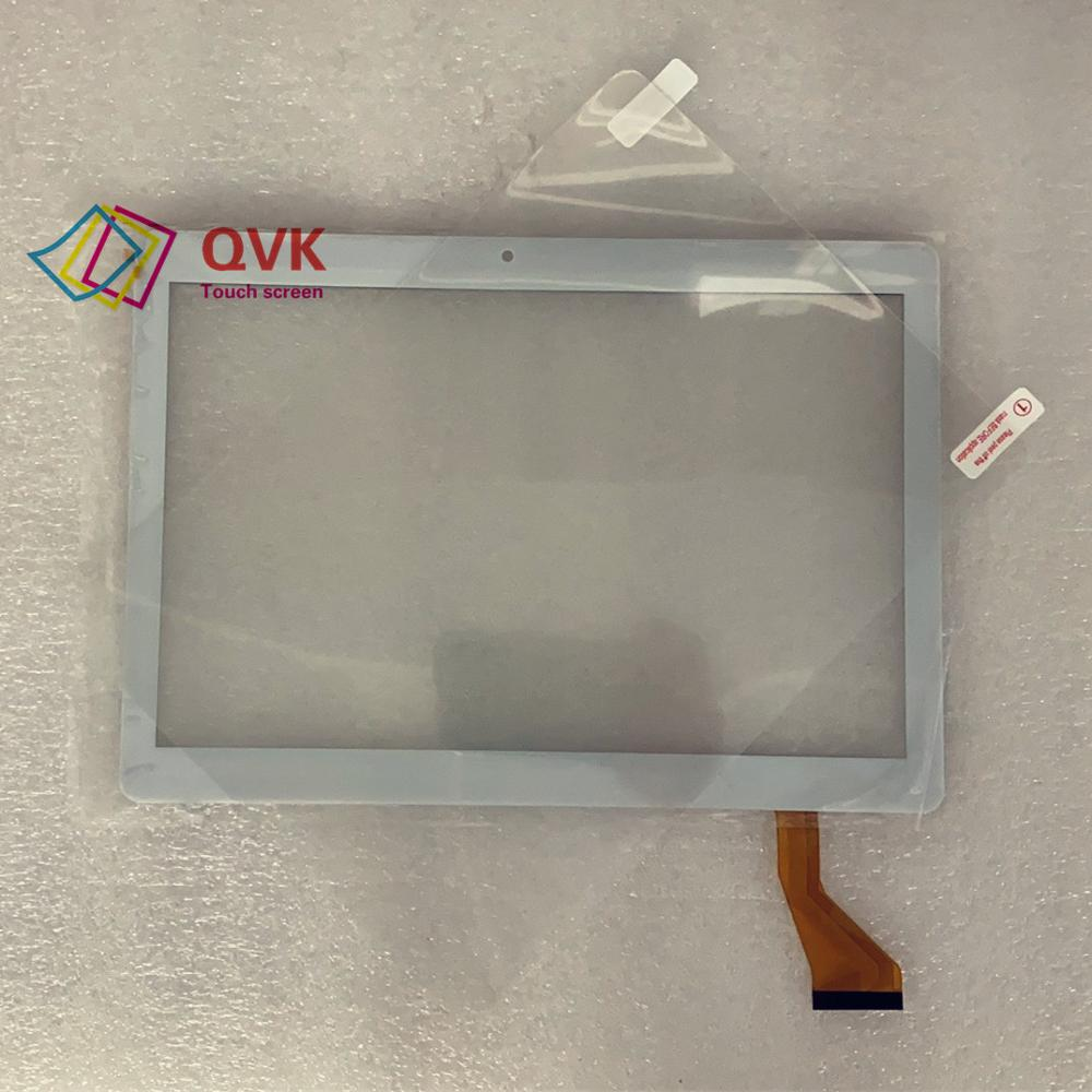 Black 10.1 Inch for Vivax TPC-101 3G Capacitive touch screen panel repair replacement spare parts free shipping(China)