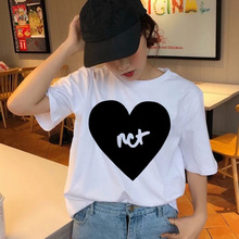 BTFCL NCT T Shirt Women Ullzang Aesthetic Muisic Fashion Korean Style Tshirt Female Harajuku Graphic 90s Tees Vintage Streetwear