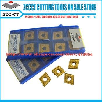 цена на 10pcs ZCC inserts CNMG120404 -PM YBC251 CNMG 120404 CNMG12 CNMG120404 ZCCCT Cemented Carbide CNC Insert Cutting tool CNMG120404-