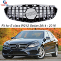 Запасная передняя решетка W212 GT  для Mercedes E W212 Sports AMG  посылка  4-дверный седан 2014 2015 2016  Черная решетка