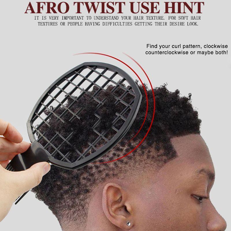 Kotor Braid Afro Twist Sisir Mudah Dibersihkan Tukang Cukur Pribadi Menggunakan Rambut Keriting Sisir Sisir Aliexpress