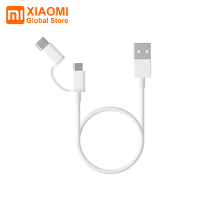 Image 1 - Xiaomi Mi Cable de datos USB 2 en 1, Cable de carga rápida de seguridad de 100cm y 30cm