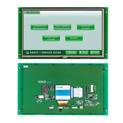 Display Lcd da 10.1 Pollici Dello Schermo di Tocco con Il Regolatore Intelligente E Bordo di Auto Porta RS232