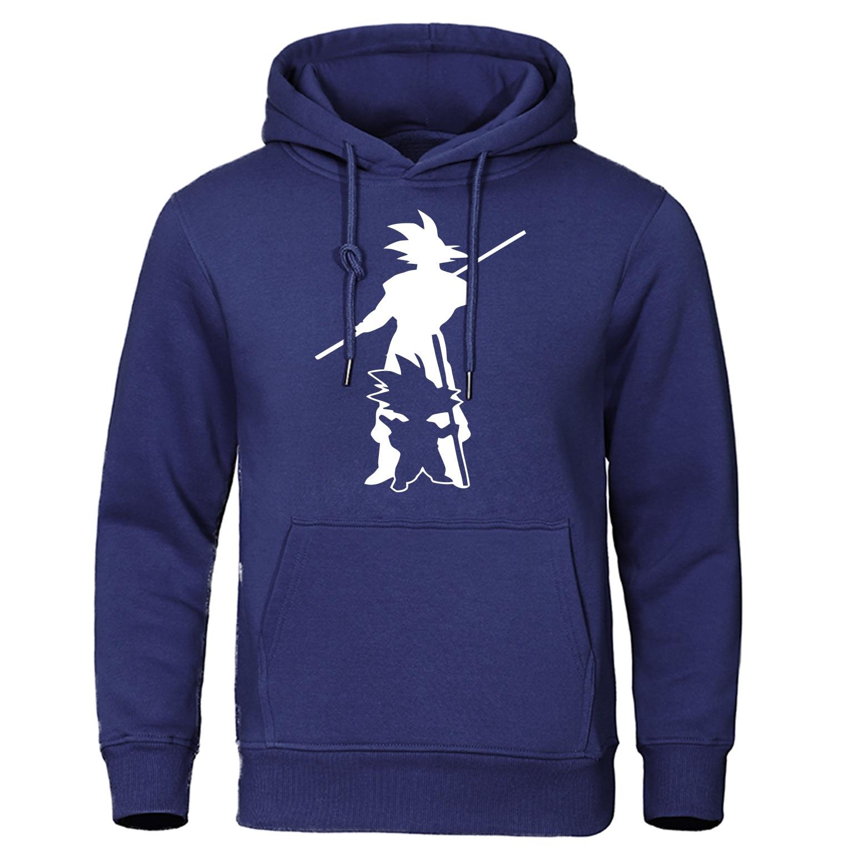 Dragon Ball Z Hoodie Sweatshirt DragonBall Z Goku Men's Hoody Japanese Anime Streetwear Trackauit Autumn Harajuku Pullover Me