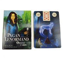 Lenorand-Tarjetas de juegos de mesa clásicos en inglés, cartas de oráculo, adivinación, juego ancho, Tarot, con PDF, nuevas
