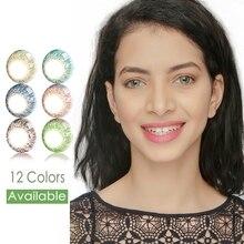 Цветные контактные линзы серии 3 Tone