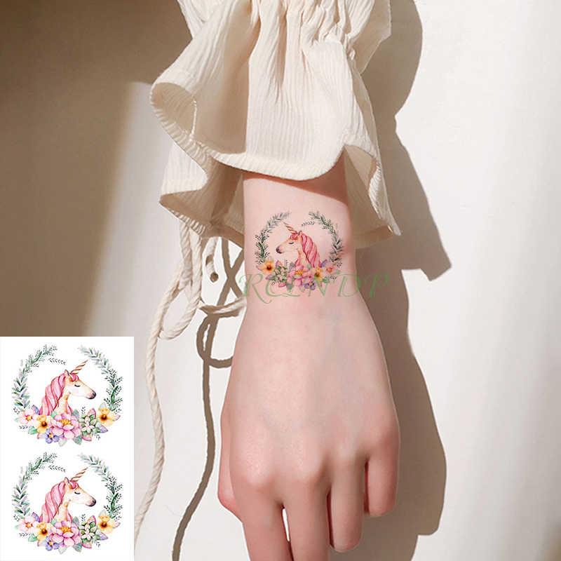 Tatuagem temporária à prova dwaterproof água adesivo bonito dinossauro tatuagem crianças tatto adesivos flash tatoo tatuagens falsas para crianças criança menina