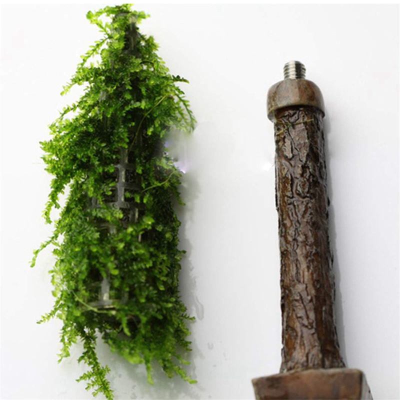 New Aquarium Tank Landscape Simulation Xmas Moss Christmas Tree Plant Grow Aquarium Decoration Supplies x
