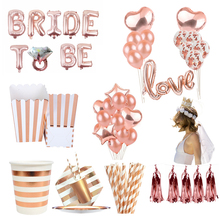 Disposable Bachelorette Hen Party Tableware Bride To Be Diamond Ring Balloon And Bridal Shower Party Favors Decoration Supplies стоимость