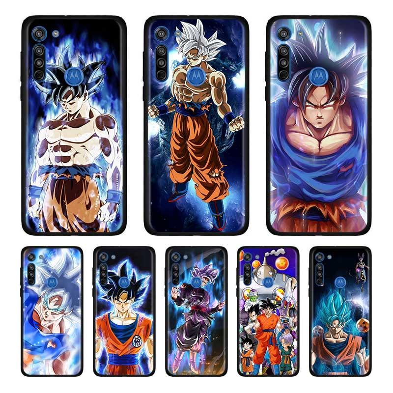 Bags Dragon Ball Z Goku Soft Case For Motorola Edge Plus Moto G Stylus G8 G Power G8 Plus Play One Hyper E6s Case Shell