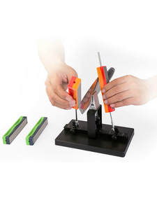 Sharpener-System-Kit Diamond-Stick Fixed-Angle-Knife Grit Taidea 1000 with 360-600 800/1000/Grit