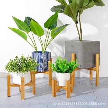 Soporte de plantas para bonsái de pie, soporte de plantas de interior para suelo de flores, bandeja de maceta para jardín y oficina