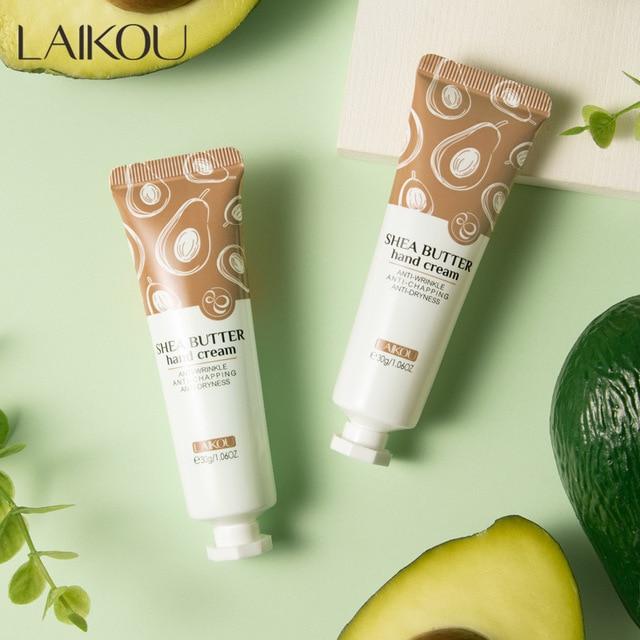 LAIKOU Anti-Chapping Hand Cream Anti-Wrinkle Anti-Dryness Moisturizing Whitening Hand Care Soften Repair Fine Line Skin Care 30g 1