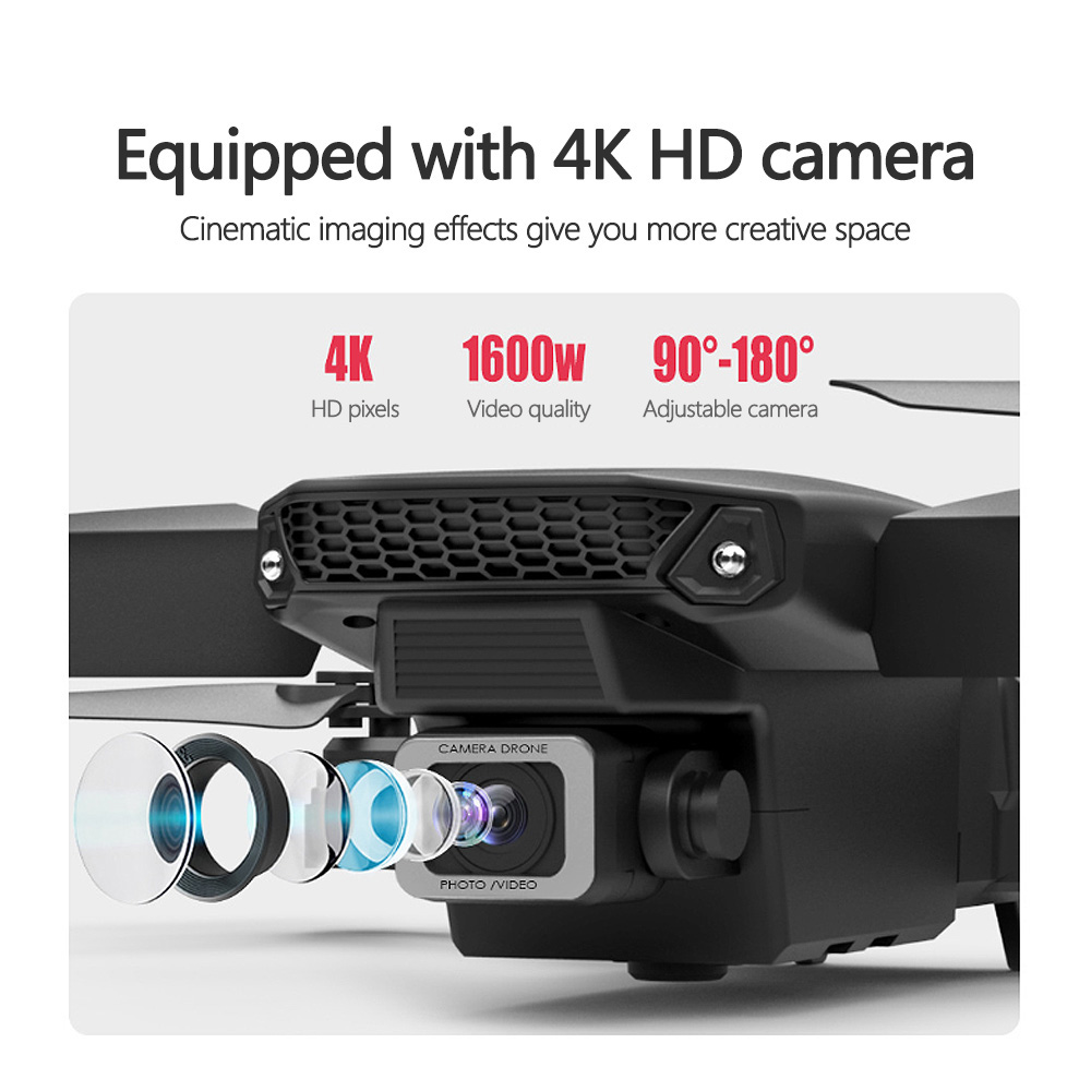 4K HD Camera Drone for Aerial Photography