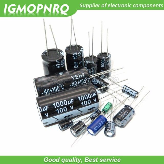 20PCS 35V-470uF aluminum electrolytic capacitor 4V 10V 16V 25V 35V 100UF 220UF 330UF 470UF 680UF 1000UF 47UF 1500UF 10UF 22UF 1