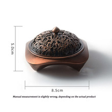 Chinese-style Kowloon incense burner copper-plated antique dragon and phoenix incense burner home decoration fresh air c aragona кардиган