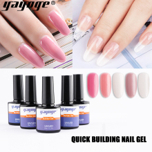 Yayoge 10ml Acrylic Poly Extension Gel Quick Building Gel Polish UV Builder Gel Nail Art Polygel nail tip Soak Off All for Nails zwtale polygel nail art clear camouflage color nail tip form crystal uv gel nail polish led acrylic builder tips poly gel