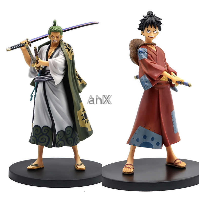 Anime One Piece 17CM Straw Hats Monkey D Luffy PVC Action Figure Toy Gift In Box