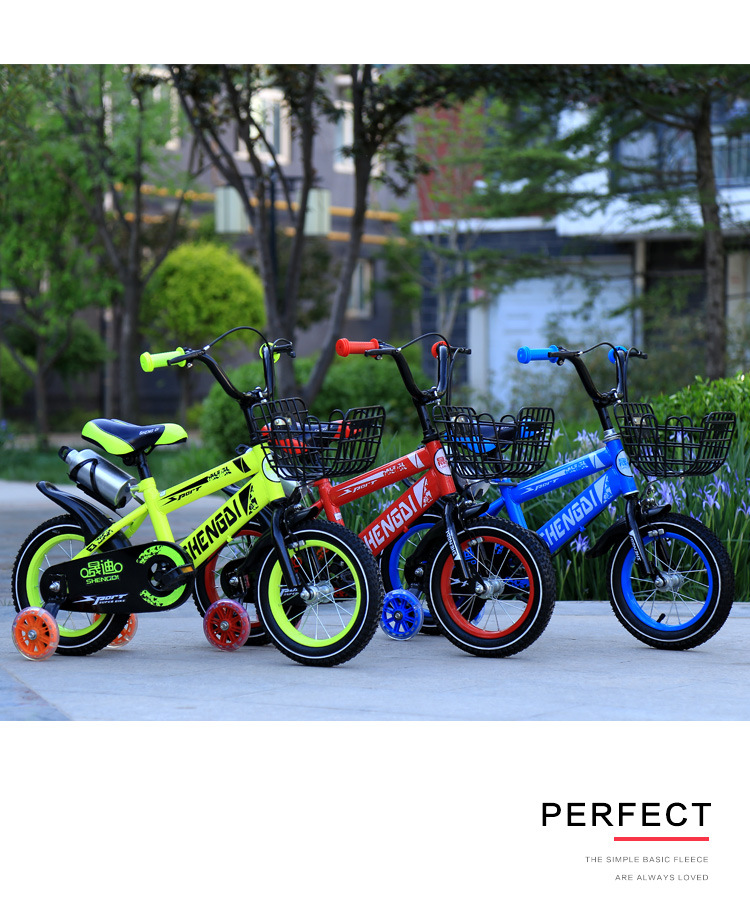 H50ad395ab09942c3b743f405c1c5acfcK Children's bicycle 12 inch girl baby bicycle 2-4 years old child girl baby carriage