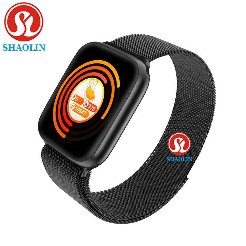 Smartver para Apple Rastreador de Fitness Relógio Inteligente Série Homens Mulheres Bluetooth Ios Iphone Android Telefone Atualizar Iwo 5