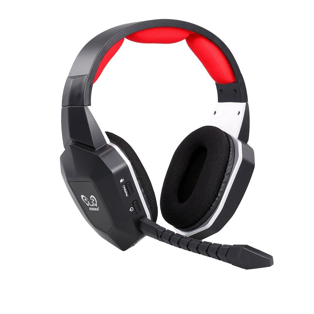 HW-N9U 2.4ghz sem fio gaming fone de ouvido virtual 7.1 canais surround sound gaming headset com microfone para ps4/pc/mac