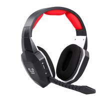 HW N9U 2.4ghz sem fio gaming fone de ouvido virtual 7.1 canais surround sound gaming headset com microfone para ps4/pc/mac