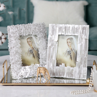 Mediterranean Type Cascading Accumulation Crystal Piece Decor Creative Picture Desktop Frame Photo Frame Gift Home Wedding Decor