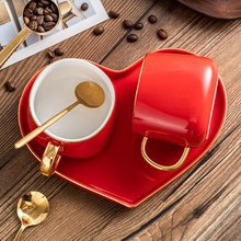 Creative Gift Couples Cup Personality Birthday Wedding Gift Ceramic Cup Coffee Cup Cup Set Wedding Cup
