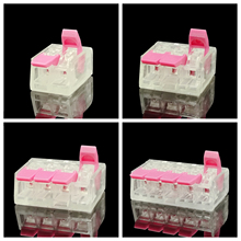 30/50PCS Replace pink 221 Series Mini Fast Wire Connectors,Universal Compact Wiring Connector,push-in Conductor Terminal Block