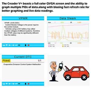Image 4 - LAUNCH OBD 2 Automotive Goods OBD Engine Scanner Automotriz Tools For Car Workshop Tool Professional Diagnostic Tool Creader V+