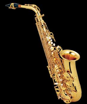Kaluolin nowy wysokiej jakości złoty saksofon altowy E płaskie instrumenty muzyczne grał super profesjonalny prezent klasy tanie i dobre opinie Spada dostroić e (f) Bakelitu Mosiądz Elektroforezy złoty
