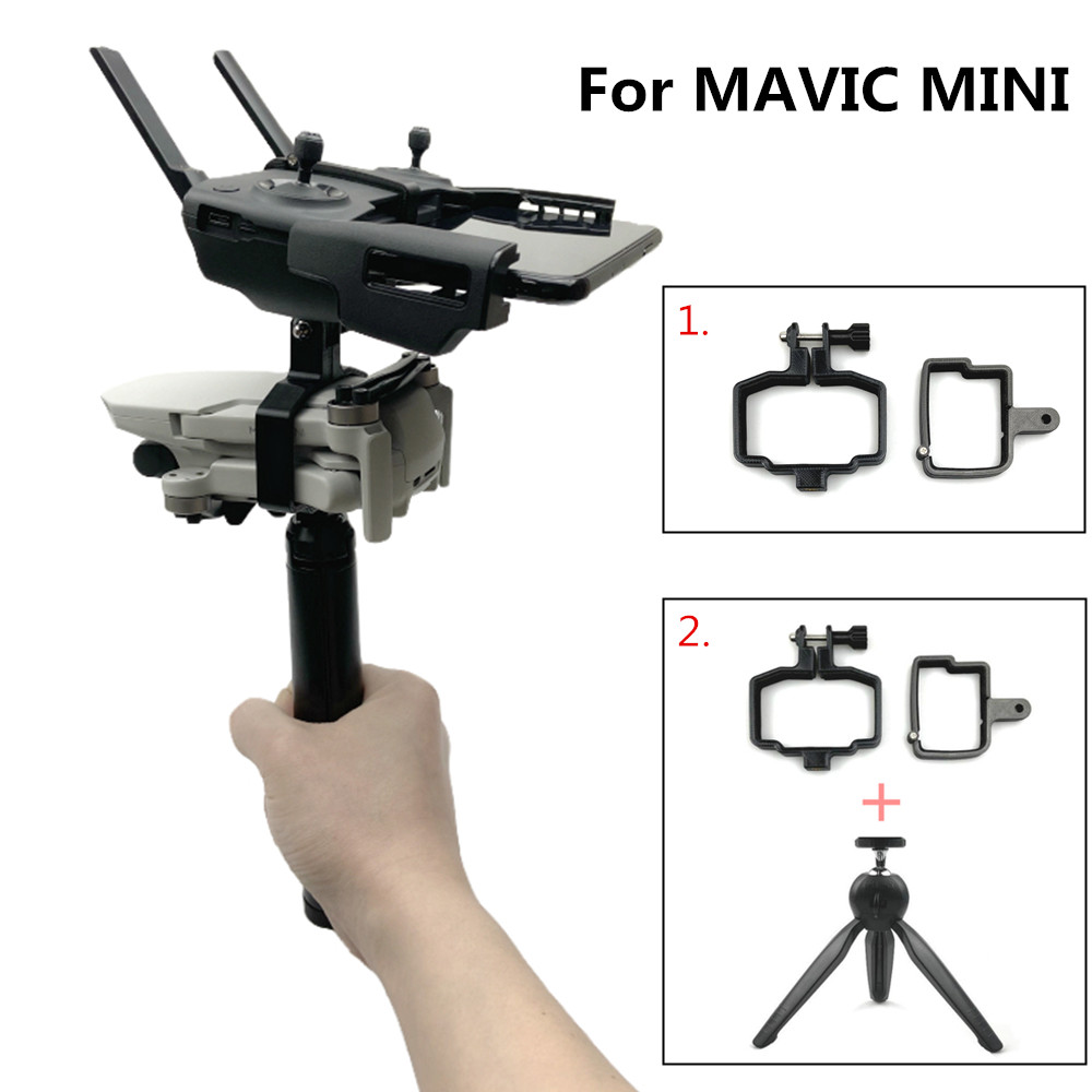 3D Printing Handheld Gimbal Camera Stabilizer Monitor Controller Tripod Holder Clip Bracket For DJI Mavic Mini Accessories
