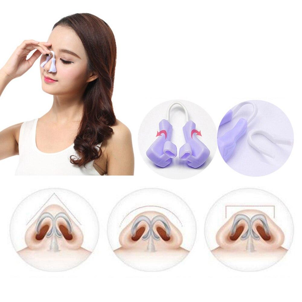 Силиконовый зажим для поднятия носа, профессиональный инструмент для устранения проблем с дыханием, портативный зажим для носа
