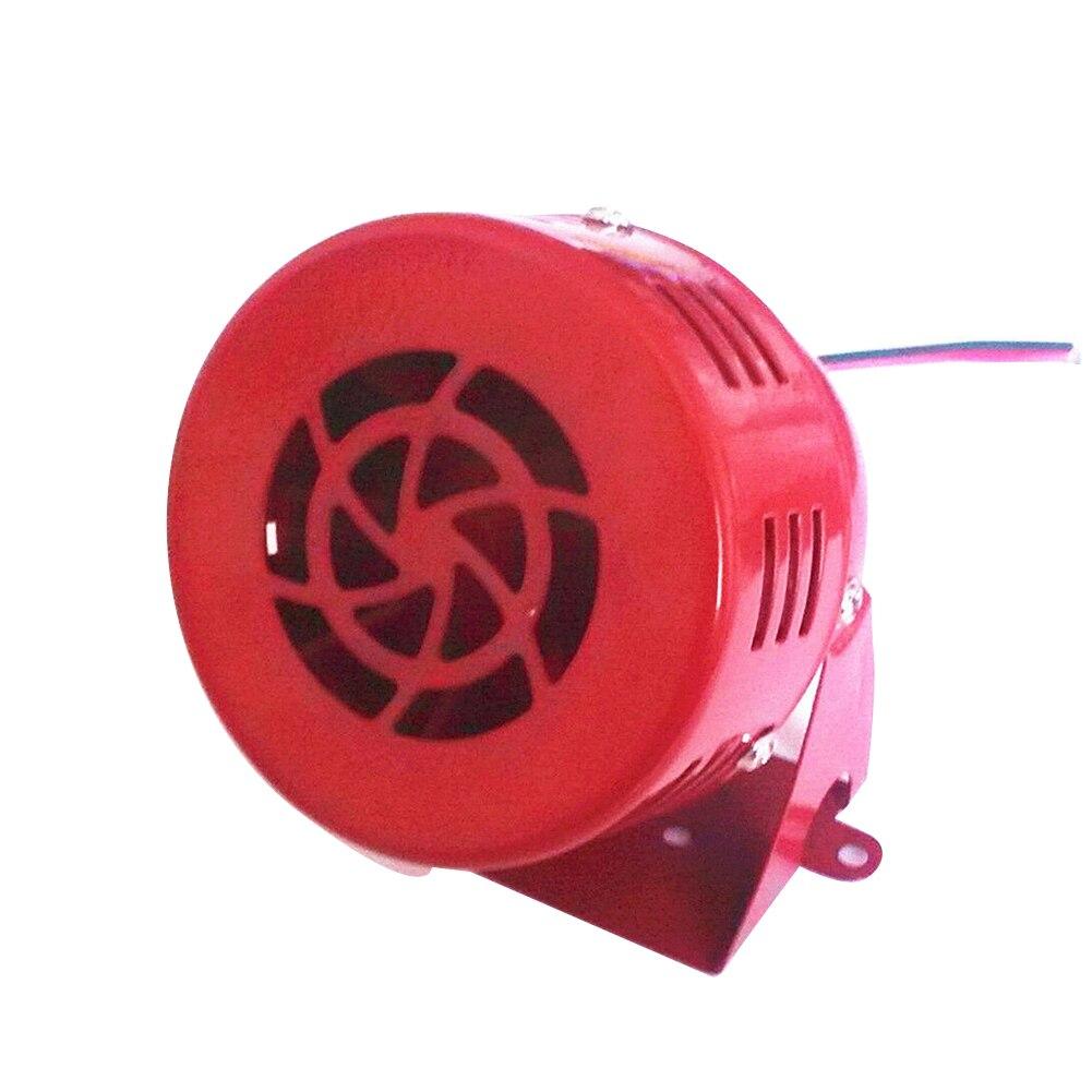 Air Raid Siren Fire Security Accessories Car Loud Sound Alarm 12V Auto Buzzer Portable Mini Horn Motorcycle Motor Driven Truck