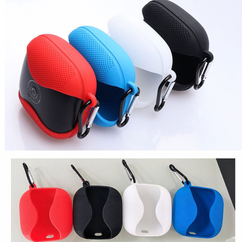 Half Wrapped Non-slip Cover Soft Silicone Anti Scratch Protective Case Shell Protector For Beats Powerbeats Pro Wireless Bluetoo