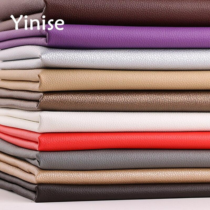 50x138 см Синтетическая кожа ткань маленькая личи искусственная кожа ткани шитье DIY сумки диван искусственная кожа украшение для дома