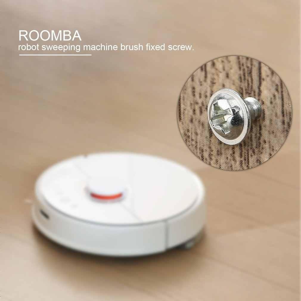 Pulizia Spazzare Robot Fisso Vite Spazzola Laterale Vite Vacuum Cleaner Accessori Sostituire le Parti per Robot di Ricambio (D * H):7*6 millimetri
