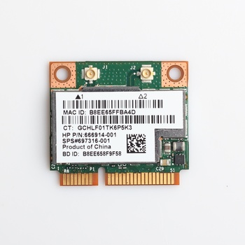 Doble banda Broadcom BCM943228HMB 802.11a/b/g/n 300Mbps Wifi tarjeta inalámbrica Bluetooth 4,0 de mitad de semestre Mini PCI-E Notebook Wifi 2,4 Ghz, 5Ghz