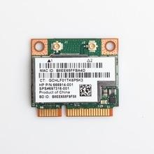 Dual Band 300Mbps BCM943228HMB Bluetooth 4.0 802.11a/B/G/N Wifi Draadloze Kaart Half Mini Pci E notebook Wlan 2.4Ghz 5Ghz Adapter