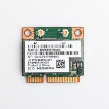 Dual Band 300Mbps BCM943228HMB Bluetooth 4.0 802.11a/b/g/n Wifi אלחוטי כרטיס חצי Mini PCI E מחברת Wlan 2.4Ghz 5Ghz מתאם
