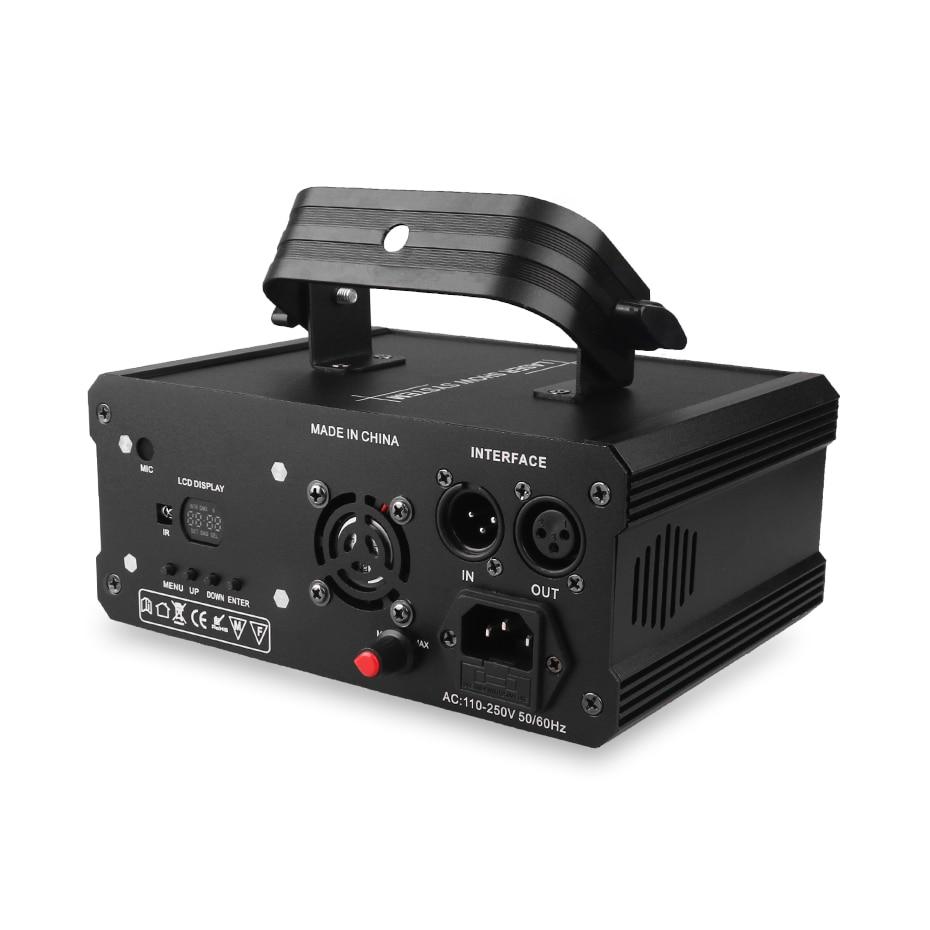 ALIEN RGB Bluetooth APP Remote Animation Laser Projector DMX512 Scanner DJ Disco Party Holiday 500MW 1W 2W Stage Lighting Effect 3