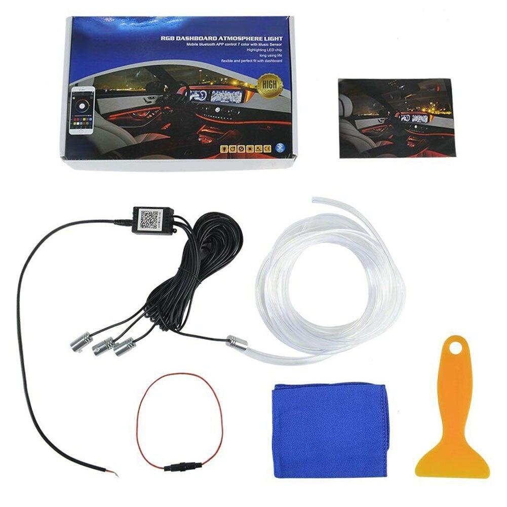12V автомобильная светодиодная лента, Светодиодная лента, гибкая изолента RGB, Декоративная гирлянда, лампа, бар, Bluetooth, управление приложением - 4