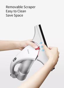 Image 5 - מקורי Xiaomi Lofans אלחוטי כף יד זכוכית ספריי לניקוי לשפשף לגרד 3 ב 1 אלחוטי נטענת 1500PA יניקה מנקה