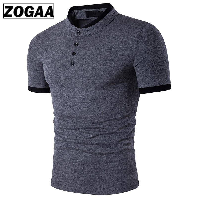 Zagaa New 2019 Polo Men's Shirt Cotton Short Sleeve Shirt Casual Shirts Summer Breathable Solid Male Polo Shirt Plus Size S-3XL