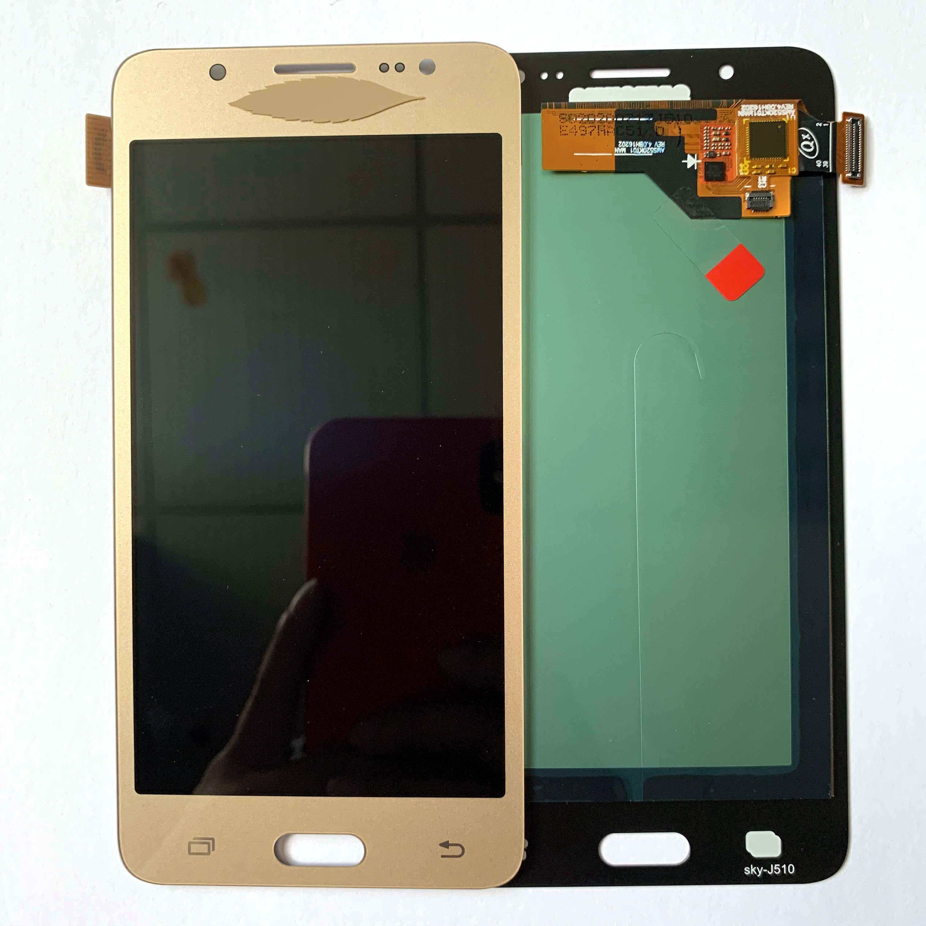 Super <font><b>AMOLED</b></font> LCD For Samsung Galaxy J5 2015 <font><b>J500</b></font> LCD Display SM-J500FN J500M Touch Screen Digitizer Assembly image