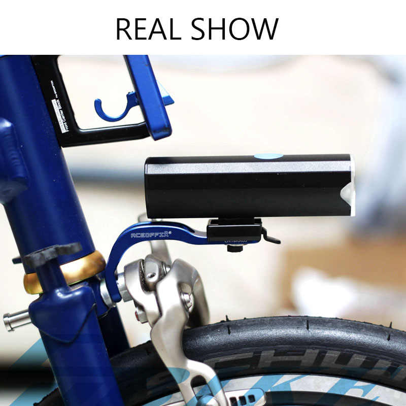 """Ultralight /""""8/"""" Handlebar Catcher Hook with KCNC Bolt for Brompton Bicycle F"""