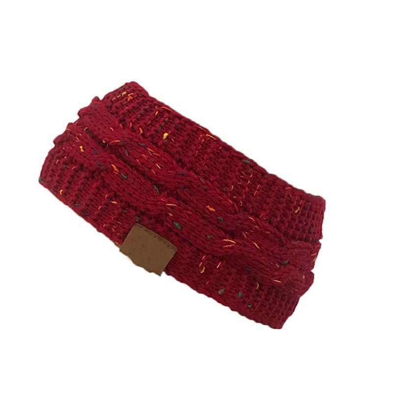 Nieuwe Hot Gebreide Haak Twist Hoed Voor vrouwen Winter Oor Warmer Elastische Tulband Haar Accessoires Beanie Hoed Drop Shipping