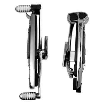 Motorcycle Chrome Driver Foot Board Floorboard Kits For Honda Goldwing GL1800 & F6B 01-17 Valkyrie 14-15