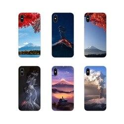Прозрачные чехлы из ТПУ для Huawei G7 G8 P8 P9 P10 P20 P30 Lite Mini Pro P Smart Plus 2017 2018 2019 чудеса природы вулкан