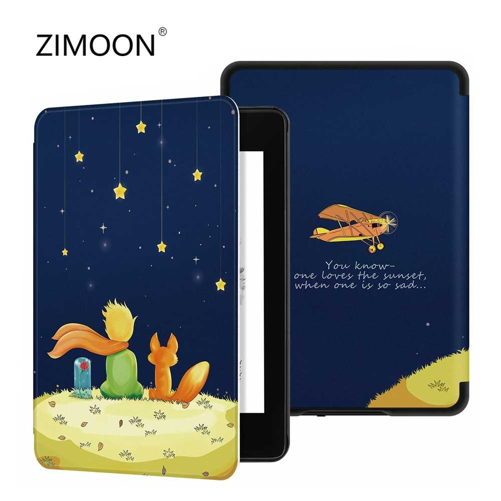 2018 nowe etui na Amazon Kindle Paperwhite 4 smart cover na nowy Kindle Paperwhite 4 etui na tablet ze skóry pu na Paperwhite 2018